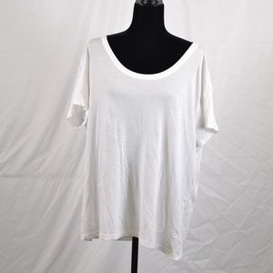 Abound Super Soft White T-shirt (M56B)